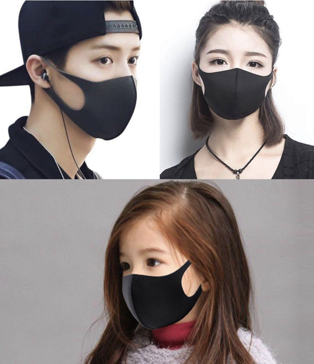 Cheap sale of adult various masks children PM2.5 cotton washable dust mask with breathing valve