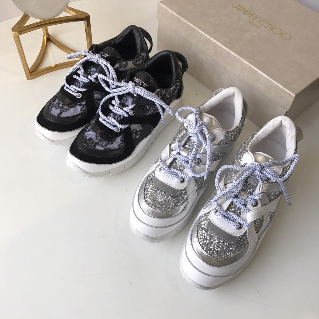 2019 am besten die neueste helle Modetrend beiläufige Spitze Gesicht Diamant Gesicht atmungsaktive Sport Spitzen-up-Schuhe der Frauen