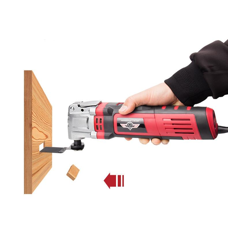 Multi-Function Saw Cutter elettrico Trimmer elettrico Renovator lavorazione del legno strumento oscillanti Strumenti