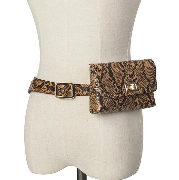 디자이너 명품 허리 가방 여성 조커 벨트 고전 문석 어깨 가방 휴대 전화 가방 여성 가방 레트로