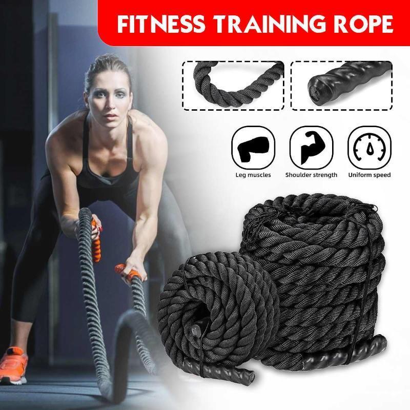 Battaglia corda Power-Formazione-migliorare la forza costruzione Heavy Jump-corda da salto di allenamento ponderato Battaglia Corde