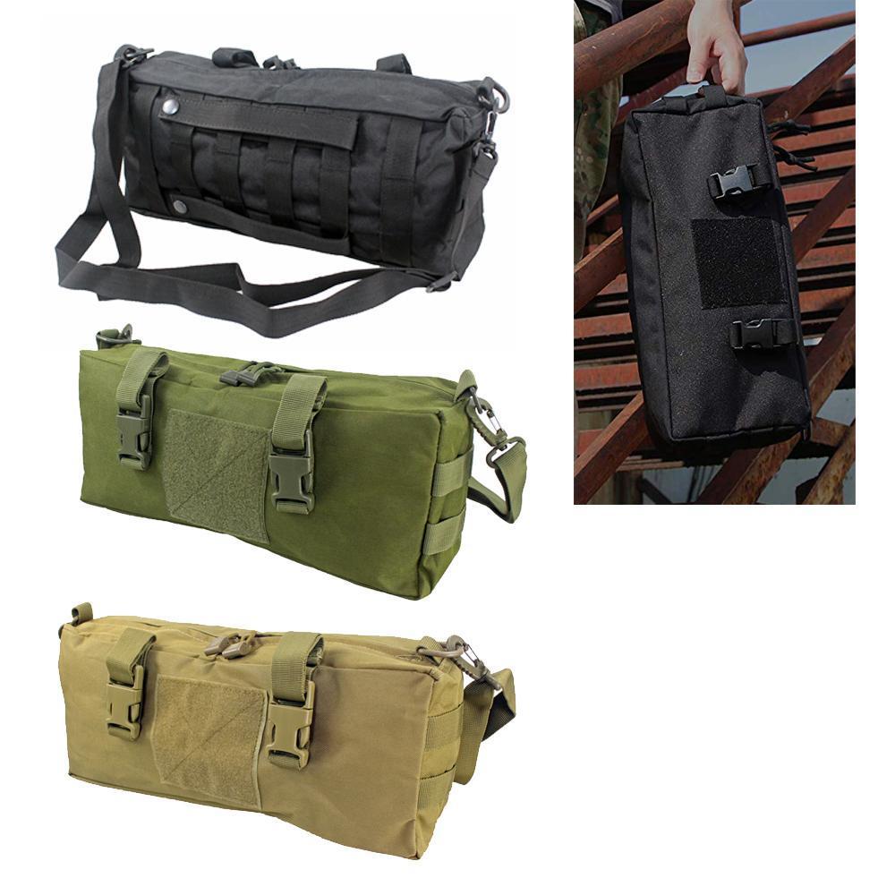 الخصر حزمة حقيبة رخوة التكتيكي في الهواء الطلق الحقيبة متعددة الأغراض سعة كبيرة للتخييم المشي لمسافات طويلة