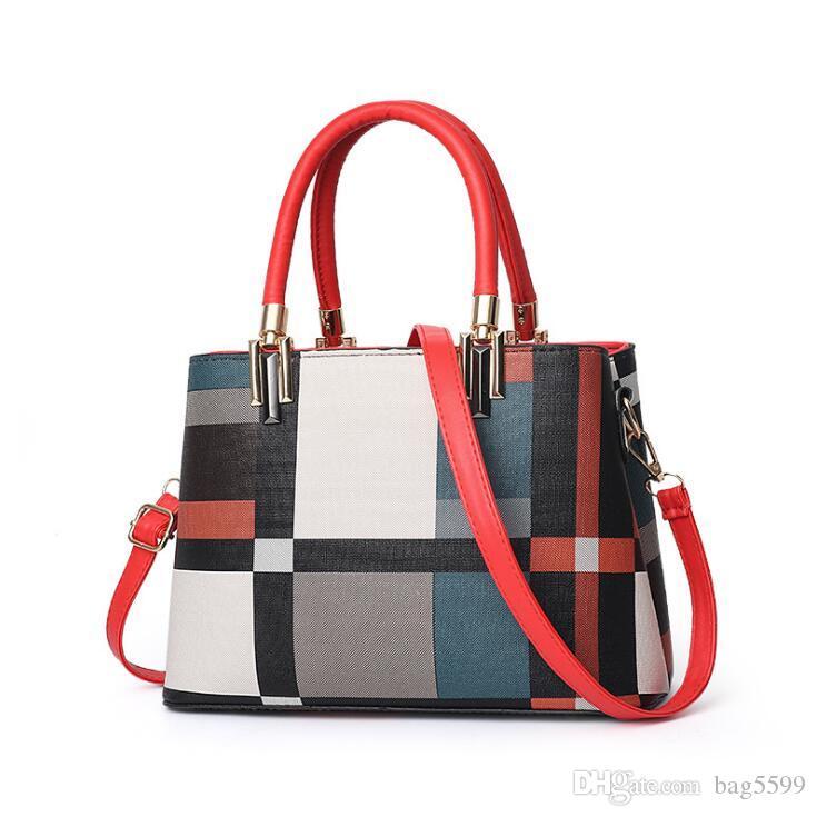 HBP 2020 New European and American Fashion Handbag Women Big Bag Elegant Shoulder Bag Messenger Bag