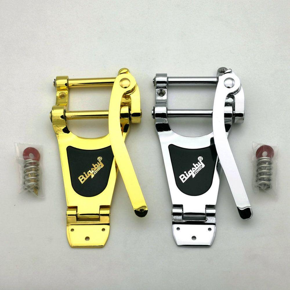 Новый стиль B700 вибрато электрической гитары тремоло Big Crank Tailpiece System Часть Jazz Guitar Bridge