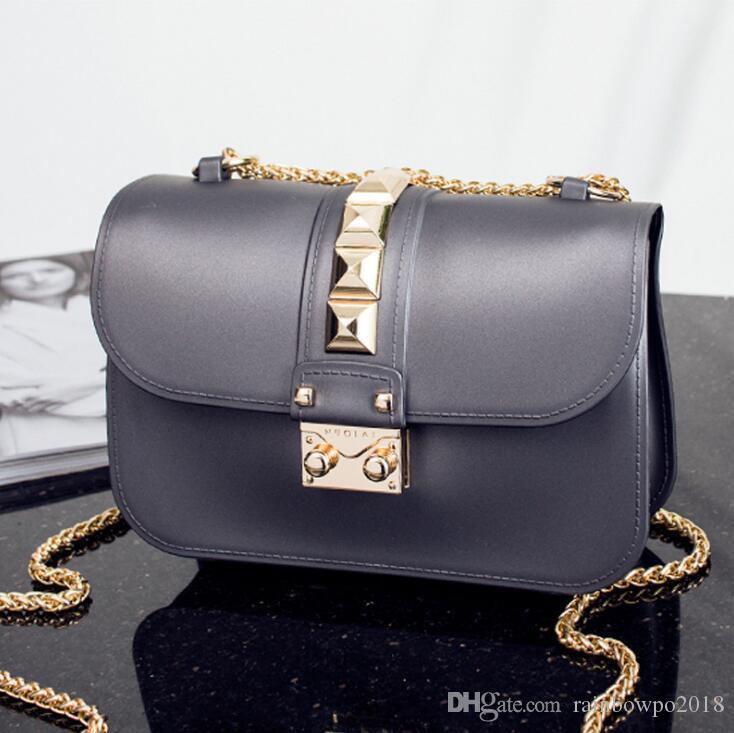 Оптовая продажа женская сумка из высококачественных экологически чистых тканей женская желейная сумка новая матовая женская цепная сумка летняя новая матовая пляжная сумка