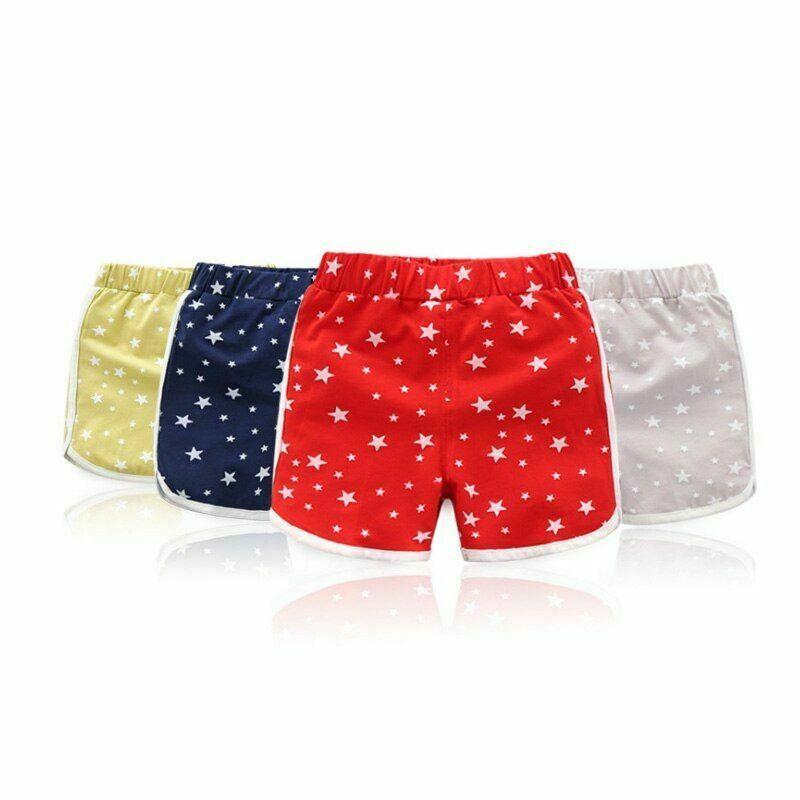 2019 Children's summer shorts female baby child toddler clothing beach wear size