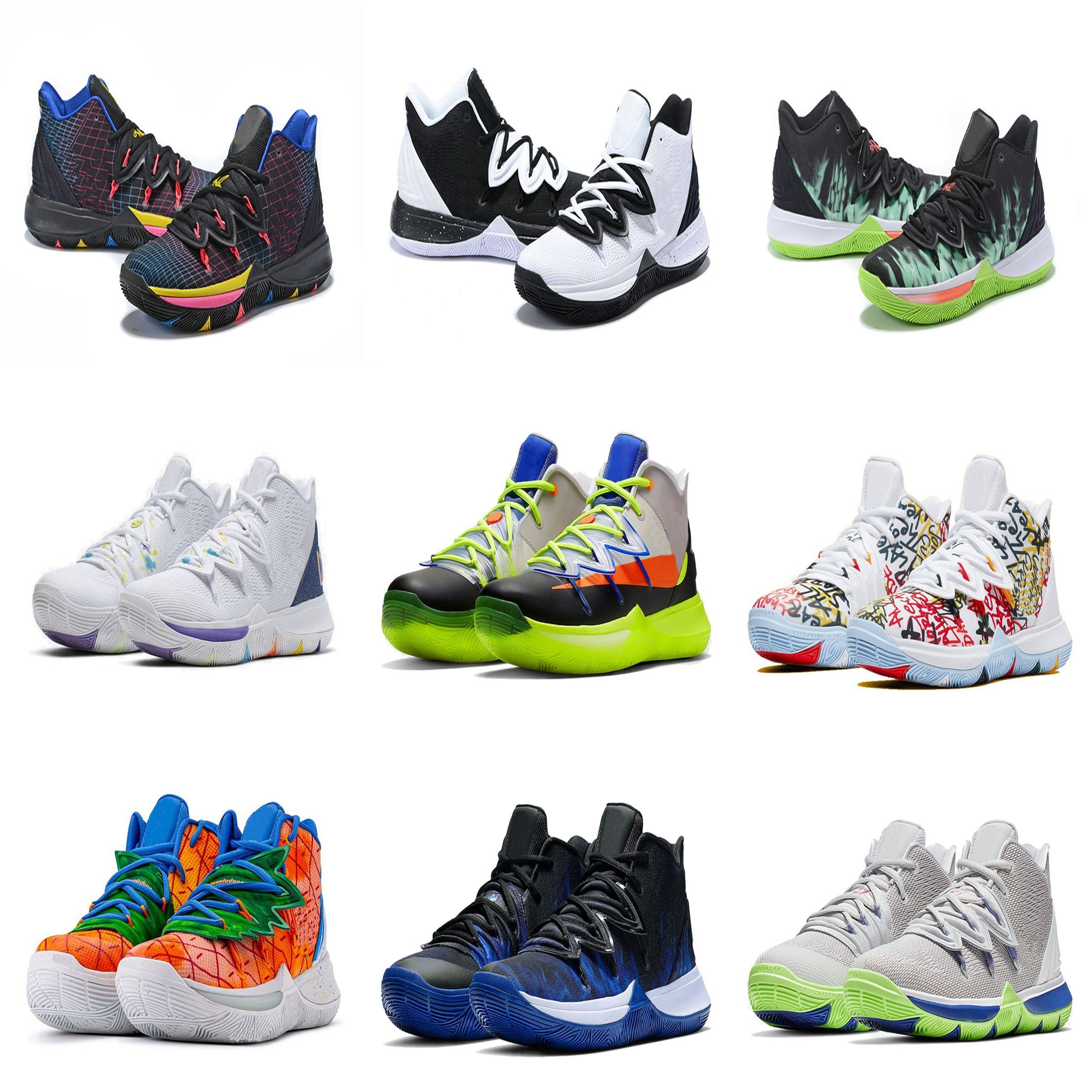 2020 New Kyrie 5 Graffiti Shoes Sales