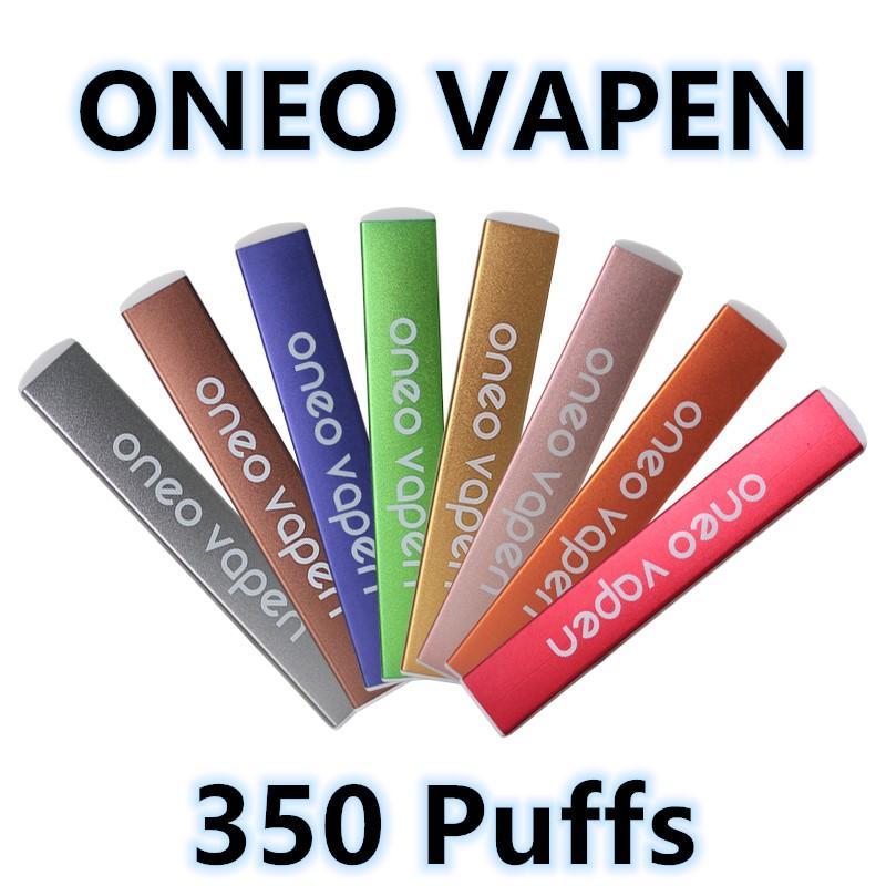 ONEO Vapen jetable Vape Pen 280mAh Vape Batterie 1,3 ml préremplie Cosses 5% Nic Sel E Bar à jus de Puff