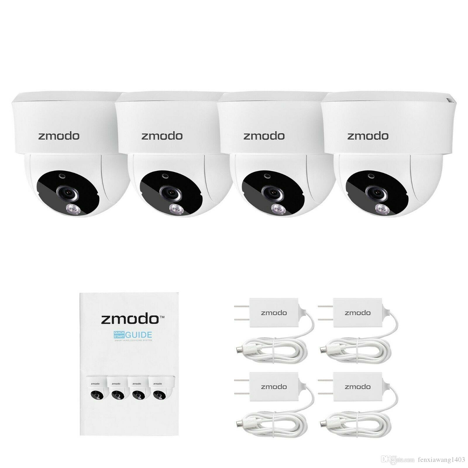 Zmodo Wireless Home WiFi Security Camera Remote Monitoring Night Vision 4  Pack Ip Video Surveillance Camera Ip Web Camera From Fenxiawang1403,  $10 05 