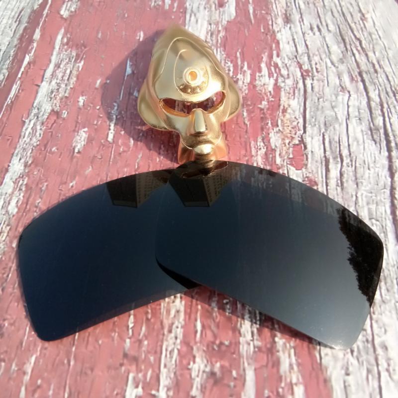 Glintbay al por mayor 100% precisas-Fit lentes polarizadas de repuesto para Parche 2 de gafas de sol - Negro avanzada