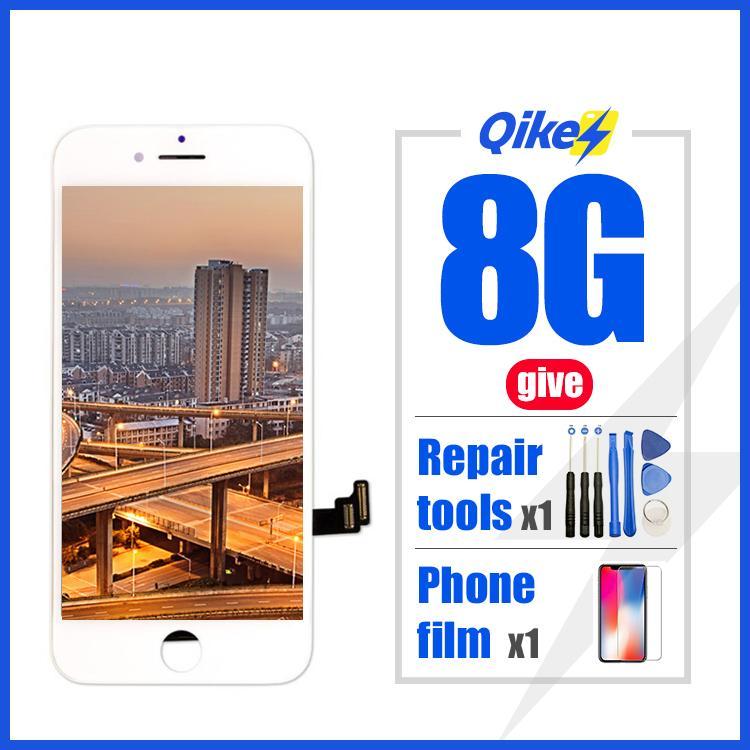 dar herramientas al por menor reparación de la película de fábrica LCD de repuesto para Iphone 8 Pantalla LCD digitalizador Asamblea táctil para el iPhone 8