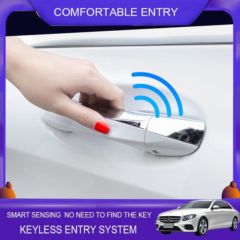 oem kapı koluyla Araç Akıllı Anahtar oem Mercedes Benz c sınıfı W205 için anahtarsız giriş konfor erişim modülü pencere rulo yukarı