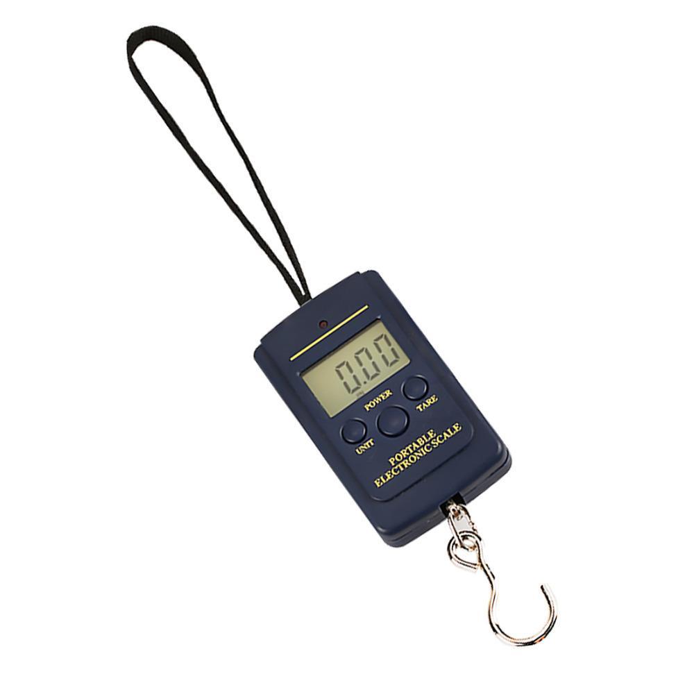 Báscula digital para pesaje de equipaje de pesca Steelyard Hanging Electronic Hook Scale