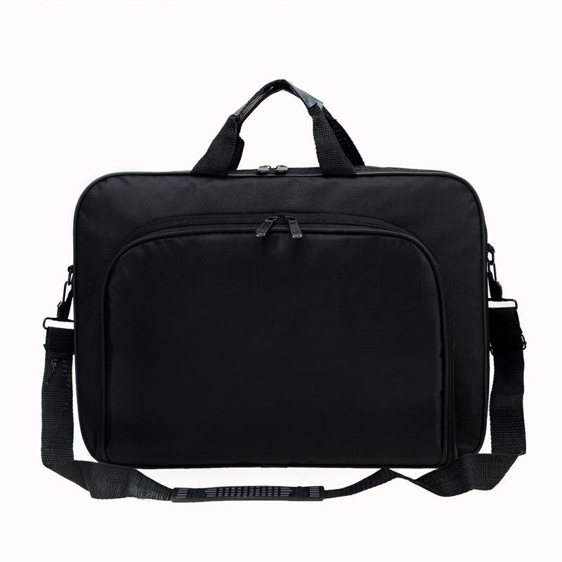 Preuve de l'eau Simple Hommes d'affaires Porte-documents en nylon sac à main Ordinateur portable Zipper Messenger Sacs pour ordinateur portable