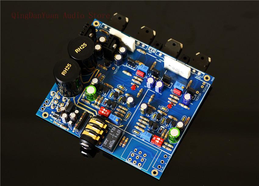 QHA4 Audio HIFI Class A FET-Transistor mit diskreten Komponenten Kopfhörer-Verstärker Assembled Platte