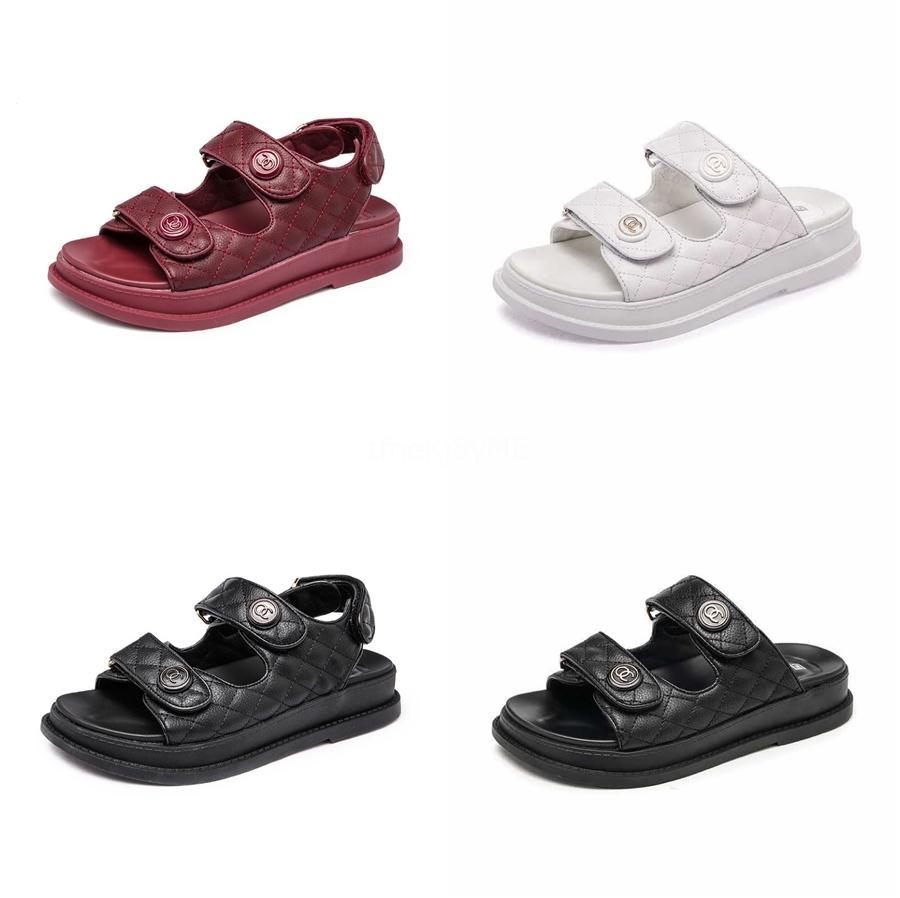 Buraco Calçados Femininos 2020 Verão New oco Estudantes selvagens Gestantes único sapatos Fundo Plano antiderrapantes macio Sandals inferior # 688