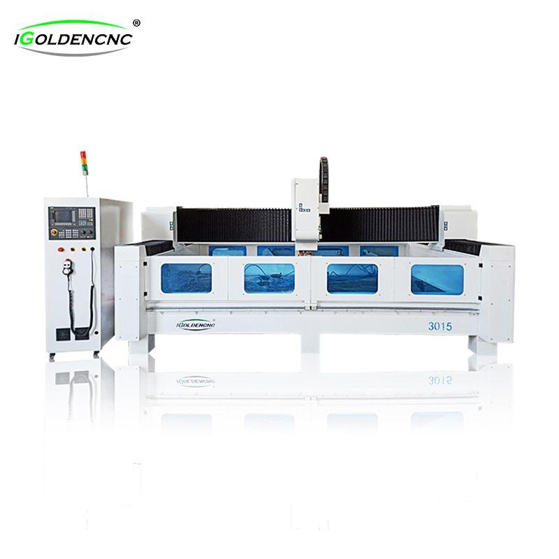Corte de piedra ATC CNC enrutador, el corte de mármol de cuarzo lineal cambio de herramienta automático CNC enrutador