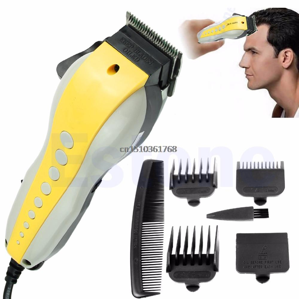 Pro Complete Hair Cutting Kit Stainless-iron Blades Clippers Trimmer Shaver Hot #Y05# #C05#