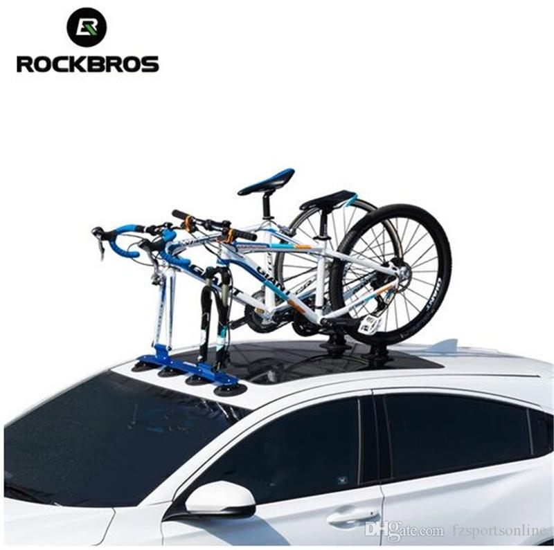 RockBros Red Suction Rooftop Bike Carrier Roof Mount Car Rack for One-bike