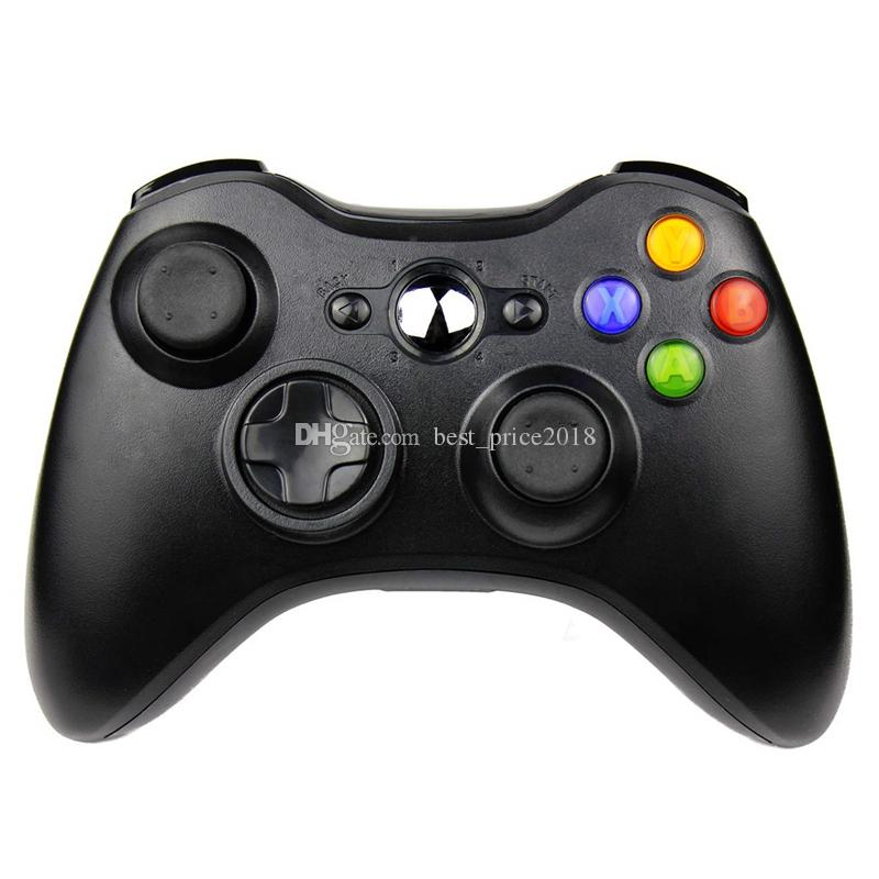 2.4G Wireless Controller For Microsoft Xbox 360 Console Gamepad Joypad Game Remote Controller Joystick With PC Reciever Free DHL