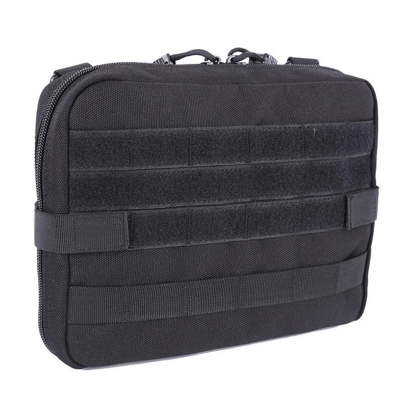 Al aire libre militar MOLLE administración bolsa táctica bolsa Multi Kit Médico Bolsa Utilidad de la bolsa para acampar Ruta Caza Nueva