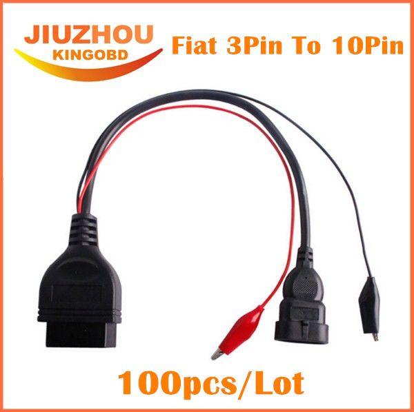 pin a 16 Pin Auto Diagnostic cable Adaptador OBD2 For Fiat Alfa Lancia 3
