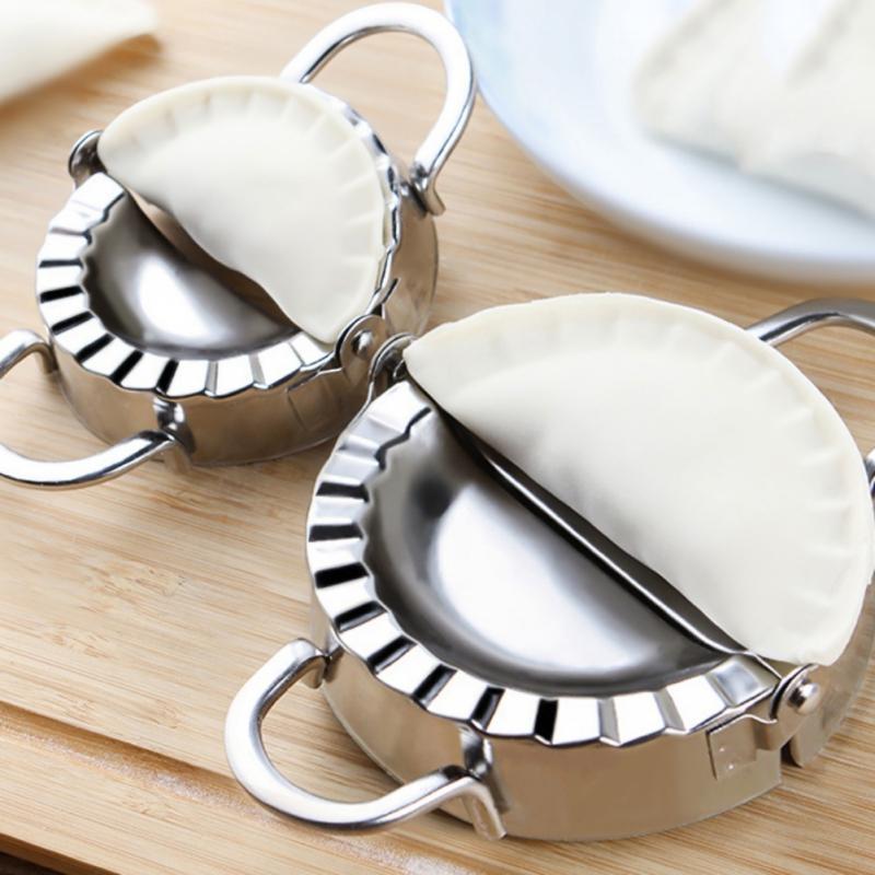 Multifonction en acier inoxydable Ravioli moule Dumplings Cutter Dumpling Maker Form Wrapper cuisine pâtisserie Moisissures presseur