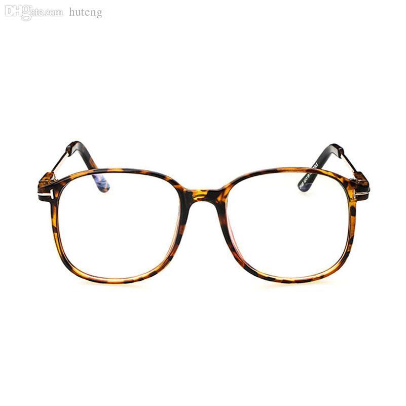 Toptan-D kadınların optik gözlük çerçevesi gözlükler büyük Metal optik çerçeve şeffaf gözlük reçete gözlük rengi yüksek kalite