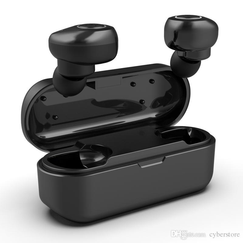 Наушники V11 Беспроводные Bluetooth наушники HiFi стерео гарнитура In-Ear Наушники Пот доказательство Спорт наушники с двойным микрофоном
