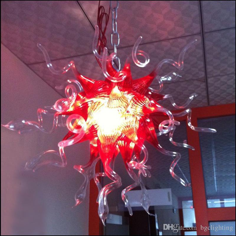 Art Deco Современное стекло люстры ручной выдувное стекло люстры Свадьба Декор Цветок Дизайн хрустальной люстрой Сделано в Китае