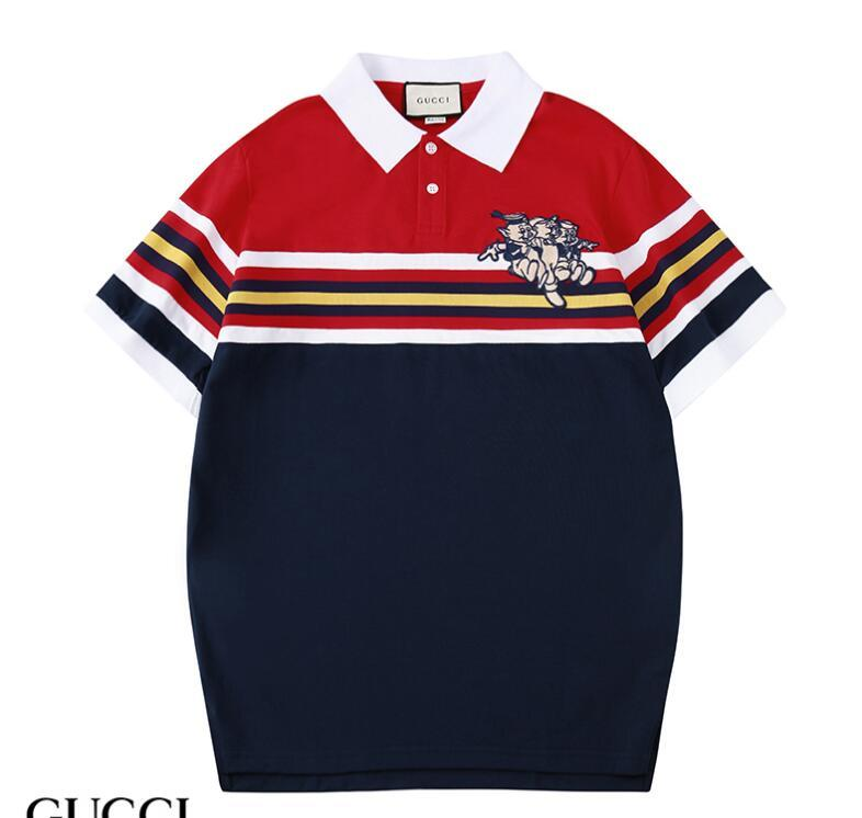 2019 Estate Magliette per uomo Top Polo T Shirt Pattern Uomo Abbigliamento Maglietta manica corta T-shirt casual