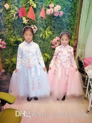 Linda2020 Bebek Çocuk Giyim DEĞİL gercek Vaftiz ikiye İçin GUC Kırmızı Hat DHLEMSAramex Nakliye elbiseler