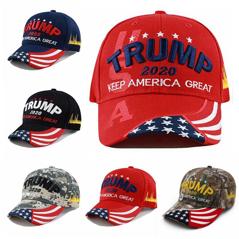 Trump 2020 Cap Unisex Make America Great Embroidered Hat Sports Snapback Visor