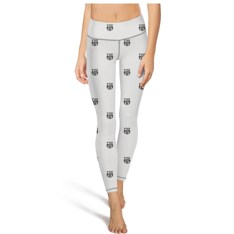 FC Barcelona Blaugrana FCB Tie dyeing High Waist Yoga Pants Womens Gym Yoga Pants Quick Drying Fashion Tights Capri Leggings Bl