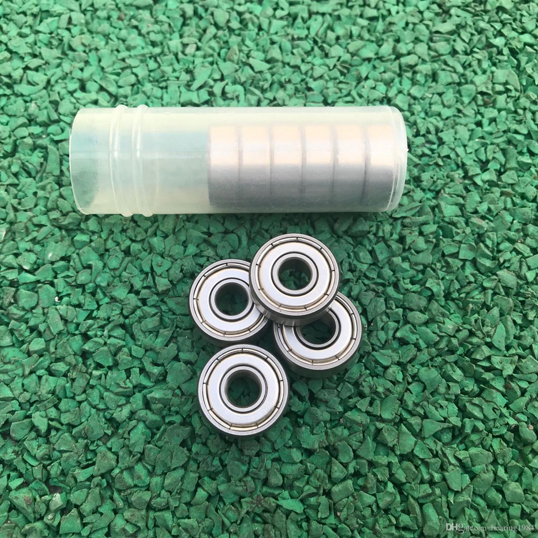 10Pcs 608zz Deep Groove Ball Bearing Carbon Steel 3D Printer Skateboard 8X22X7mm