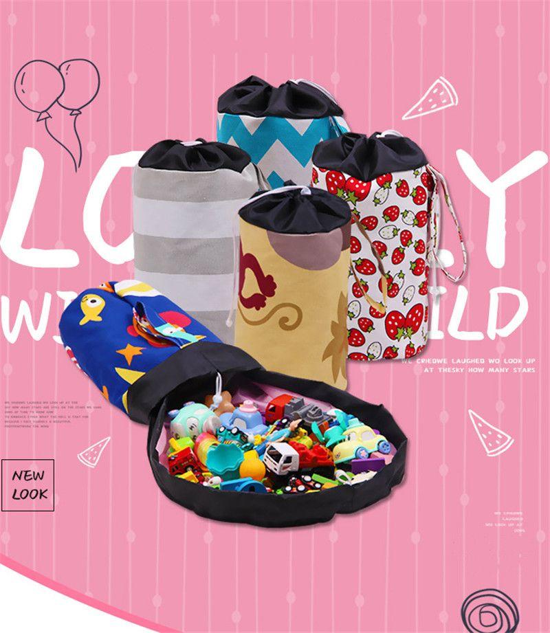 22 style magic kids toys storage bucket multi-function storage basket colorful drawing storage bins best gift for children