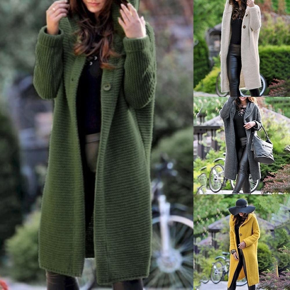 High Street Hoody Maglione del cotone di qualità del tasto Cappotto Cardigan maglione invernale Chompas Para Mujer Tricot Casaco Feminino