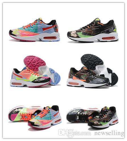 Max2s Light x Atmossss 2019 New OG Men Scarpe da corsa White Air rBlue Mens Designer Sneakers da ginnastica Zapatos sports Atomic shoes