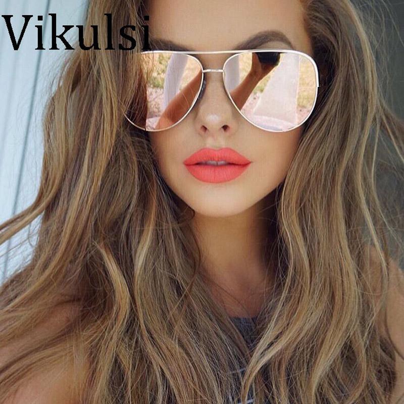 2020 New Mirror or rose Lunettes de soleil rondes Femmes Marque Designer Retro Vintage Lunettes de soleil pour les hommes Lady Driving Lunettes UV400