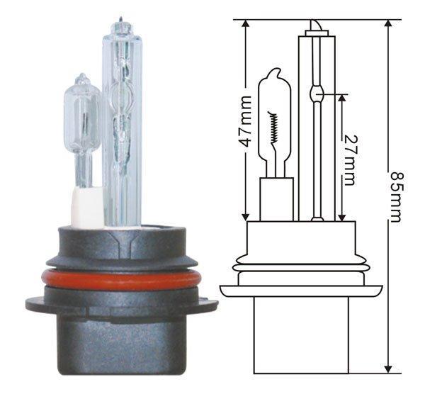 Araç Far D1S D1C D2S D2C D2R D2S D3S D3C D3R D4S D4C D4R için 35W AC HID Araç Far lambası HID Dönüşüm Xenon ampul