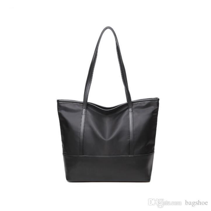 Novo saco coreano costura Oxford bolsas de pano ombro textura de tecido tipo Oxford Bag forma Bucket Bucket Bag estilo da forma estilo