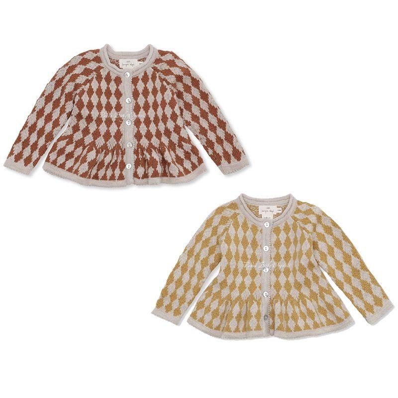 Newest INS Kids Boys Girls Sweater Sweater Abrigos de lana Gran Calidad Cabalinas de otoño Diseñador de niños Outwears Chaquetas de mezclilla