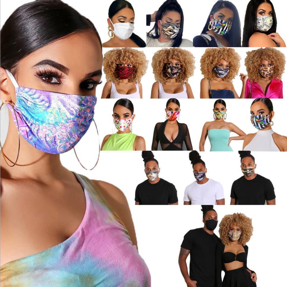 Дизайнер Дизайн Маска для лица Защитной маска ультрафиолетовой доказательство пылезащитной езды на велосипеде Спорт Print Mouth Маска мужчина и женщины на улицу Свободный