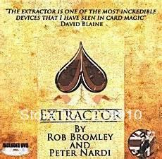 Extractor Livraison gratuite (DVD et Gimmick) Magic Tricks