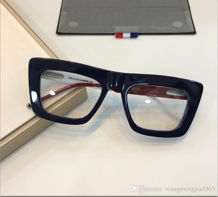 نظارات TB415 إطار واضح الرجال ينس وإمرأة نظارات النظارات قصر النظر ريترو oculos دي غراو الرجال والنساء قصر النظر النظارات إطارات