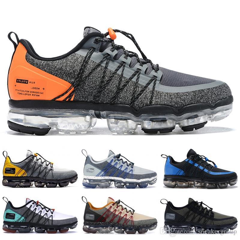 2020 Top Run-Dienstprogramm Männer Laufschuhe Anthrazit Medium Olive Schwarz Reflektieren Silber Stylist Turnschuhe Sportschuhe Turnschuhe 40-45