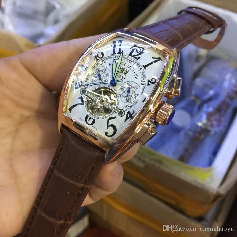 3A nova marca top marca movimento automático relógio do movimento tourbillon data de mergulho dos homens relógio mecânico moda esportiva relógio de luxo Monterey