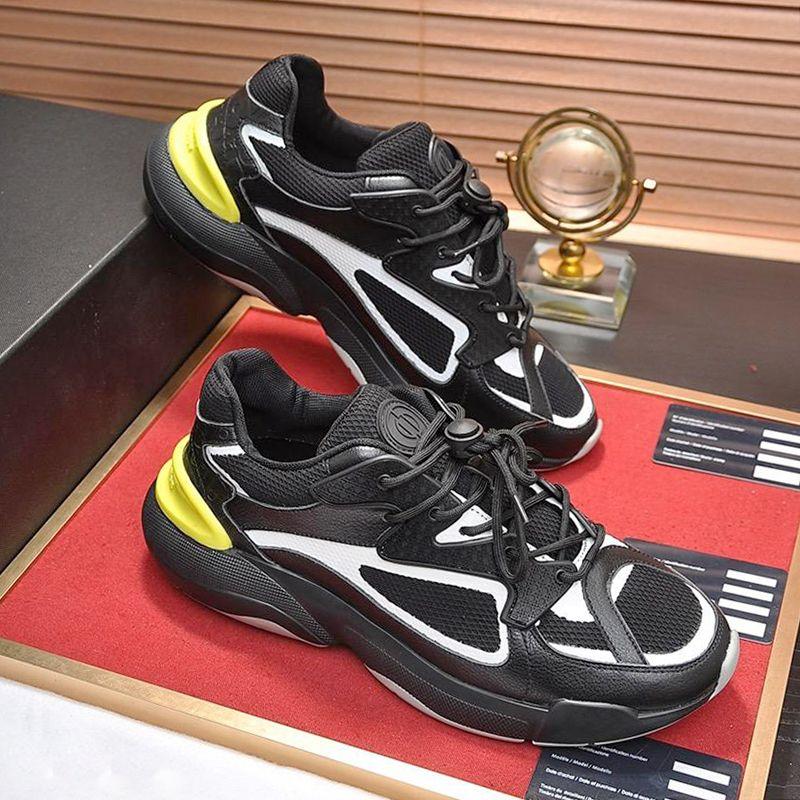 Lightweight Black B24 Sneaker Men's Shoes Scarpe da uomo di lusso Casual Footwears Outdoor Walking Luxury Lace-up Low Top Men Shoes