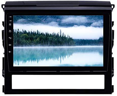9 pulgadas Android 9.0 estéreo con pantalla táctil de coches GPS Navi para Toyota Land Cruiser 200 2016 con WiFi Bluetooth Music USB AUX
