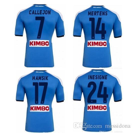 2019 2020 NAPOLI CALCIO NAPLES MAGLIA MARADONA 10 HAMSIK 17 MILIK 99 MERTENS soccer jersey camisa futebol football shirt kit camiseta futbol
